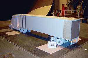 SOLUS Mini-Skirt installed on the SO RHT Wind Tunnel Model in the Langley Full Scale Wind Tunnel